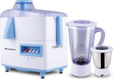 Wonderchef Cortina 500W Juicer Mixer Grinder (2 Jars) Price in India