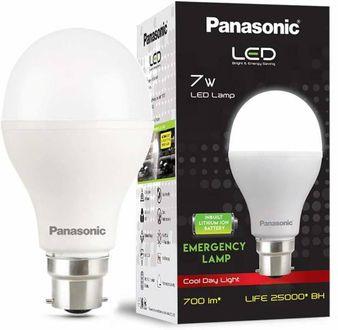 Panasonic 7W Round B22 LED Bulb (White) Price in India