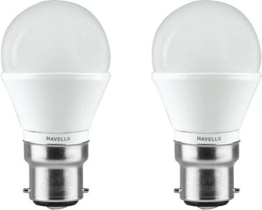 Havells 3W Adore B22 LED Bulb (Yellow, Pack of 2) Price in India