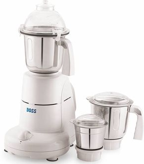 Boss E202 600W Mixer Grinder (3 Jars) Price in India
