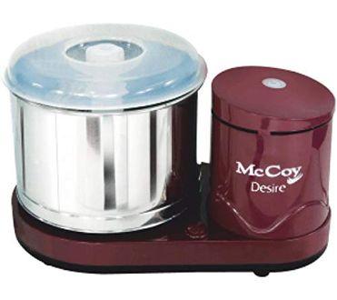 McCoy Desire Table Top Wet Grinder Price in India