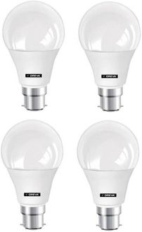 Oreva 7W Round B22 LED Bulb (White, Pack of 4) Price in India