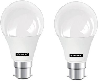 Oreva 14W Round B22 LED Bulb (White, Pack of 2) Price in India