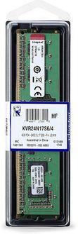 Kingston (KVR24N17S6/4) 4GB DDR4 Desktop Ram Price in India