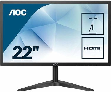 AOC 22B1HS 21.5 inch Full HD Monitor Price in India