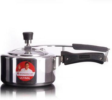 Wonderchef Ultima Aluminium 2 L Induction Bottom Pressure Cooker (Inner Lid) Price in India