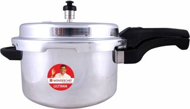 Wonderchef Ultima Aluminium 1.5 L Induction Bottom Pressure Cooker(Outer Lid) Price in India