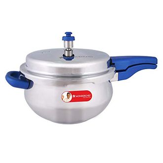 Wonderchef Nigella Stainless Steel 5.5 L Pressure Cooker (Induction Bottom,Outer Lid) Price in India