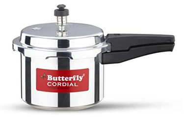 Butterfly Cordial Aluminium 3 L Pressure Cooker (Outer Lid) Price in India