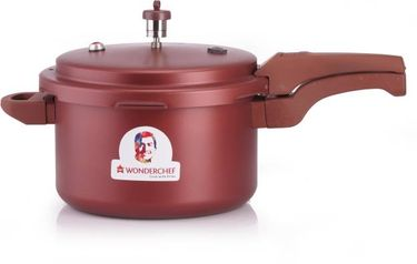 Wonderchef Health Guard 5 L Induction Bottom Pressure Cooker(Outer Lid) Price in India