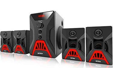 Intex It-Rock 4.1 Channel Multimedia Speaker Price in India