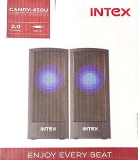 Intex Candy-450U 2.0 Channel Multimedia Speakers Price in India