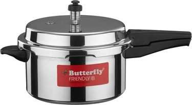 Butterfly Friendly 5 L Pressure Cooker (Induction Base, Outer Lid) Price in India