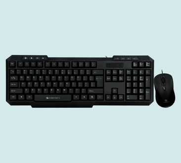 Zebronics Judwaa 760  Wired USB Keyboard and Mouse Combo Price in India