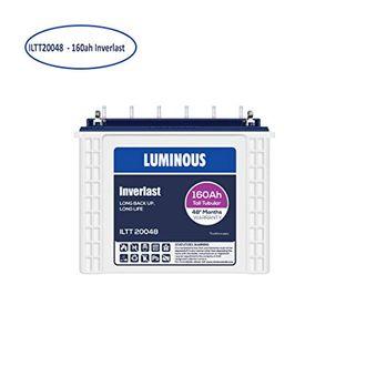 Luminous ILTT20048 Tubular Inverlast 160ah Battery Price in India