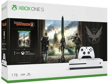 Microsoft Xbox One S 1 TB(With Tom Clancy's The Division 2) Price in India