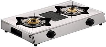 Butterfly Matchless Stainless Steel Manual Gas Stove(2 Burners) Price in India