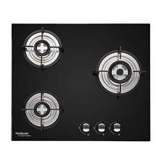 Hindware Nora 3 Burner AUTO Ignition Cooktop Gas Stove Price in India