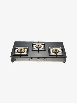 Hindware Lorenzo 3 Burner AUTO Ignition Cooktop Gas Stove Price in India