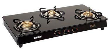 Usha Ebony GS3 001 3 Burner Gas Cooktop Price in India
