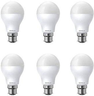 Havells 9W B22 LED Bulb (White, Pack of 6) Price in India