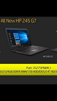 HP 245 G7 Laptop Price in India
