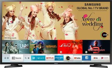 Samsung UA32N4305 32 Inch HD Ready LED Smart TV Price in India