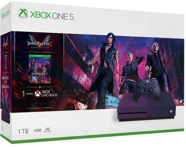Microsoft Xbox One X 1TB Gaming Console(with Devil May Cry 5 Special Edition Bundle) Price in India