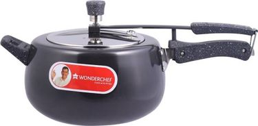 Wonderchef Taurus 5 L Hard Anodized Induction Bottom Pressure Cooker (Inner Lid) Price in India