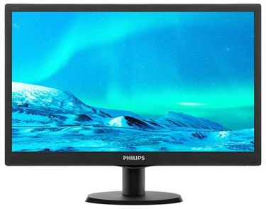 Philips 193V5LHSB2/94 18.5 inch HD LED Monitor Price in India