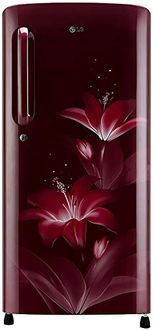 LG GL-B201APGY 190L 5 Star Inverter Direct Cool Single Door Refrigerator (Glow) Price in India