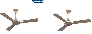 Crompton Aura2 Prime Anti Dust 3 Blade(1200mm) Ceiling Fan (Pack of 2) Price in India