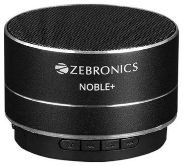 Zebronics Noble Plus Portable Bluetooth Speaker Price in India
