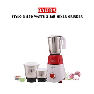 Baltra Stylo-3 BMG 134 550W Mixer Grinder (3 Jars) Price in India