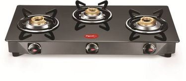 Pigeon Scarlet Stainless Steel Manual Gas Stove (3 Burners) Price in India