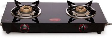 Pigeon Aster 2 Burner Stainless Steel Manual Gas Stove Price in India