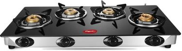 Pigeon Favourite Stainless Steel Manual Gas Stove (4 Burners) Price in India