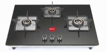 Pigeon Spark Hob Top Glass Automatic Gas Stove (3 Burners) Price in India