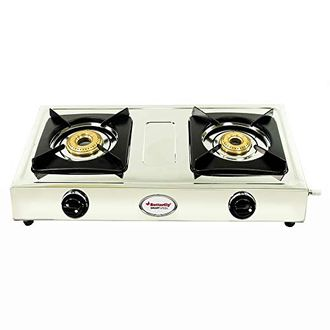 Butterfly Smart Steel Gas Cooktop (2 Burner) Price in India