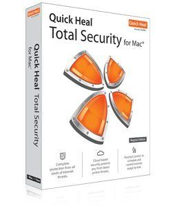 Quick Heal Total Security for Mac 1 PC 1 Year Price in India