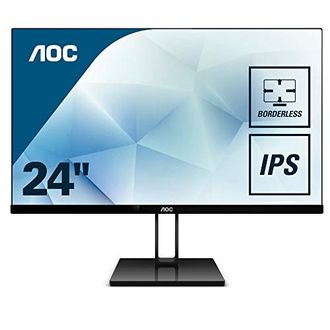 AOC 24V2Q 23.8 Inch Full HD IPS Monitor Price in India