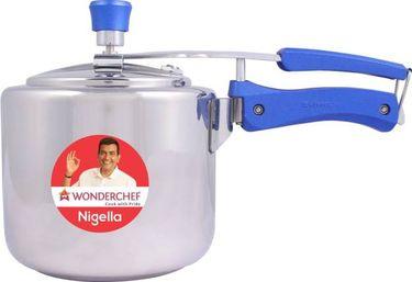 Wonderchef Nigella Stainless Steel 3L Pressure Cooker (Induction Bottom,Inner Lid) Price in India