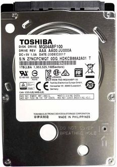 Toshiba MQ04ABF100 1TB 2.5 Inch Internal Hard Disk Drive Price in India