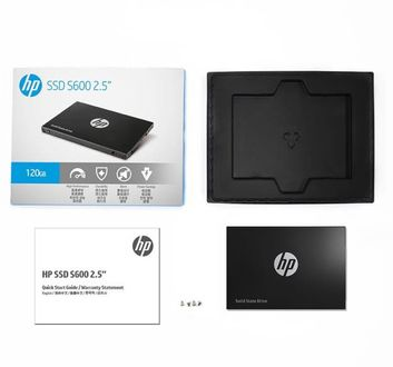 HP S600 120GB 2.5 Inch Internal Solid State Drive (4FZ32AA) Price in India