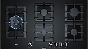 Bosch PPS9A6B90I Glass Gas Stove Hob (5 Burner) Price in India