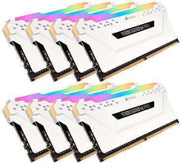 Corsair (CMW128GX4M8C3200C16W) Vengeance RGB PRO 3200MHz C16 128GB (8x16GB) DDR4 Ram Price in India