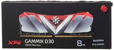 A-DATA (AX4U300038G16A-SR30) XPG GAMMIX D30 8GB DDR4 3000Mhz Desktop Memory Price in India