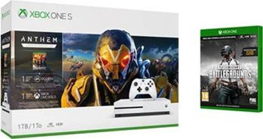 Microsoft Xbox One S 1 TB (With Anthem Legion of Dawn Edition & Player Unknown's Battlegrounds) Price in India