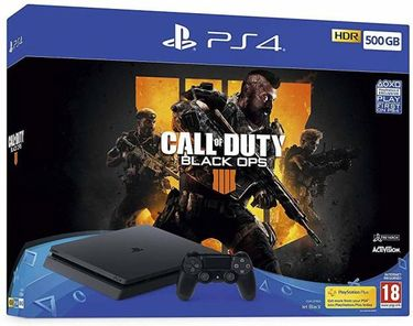 Sony PlayStation 4 500GB Console (with Call of Duty: Black Ops IIII Bundle) Price in India