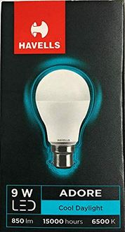 Havells Adore 9W B22 LED Bulb (Pack of 4, Cool Daylight) Price in India